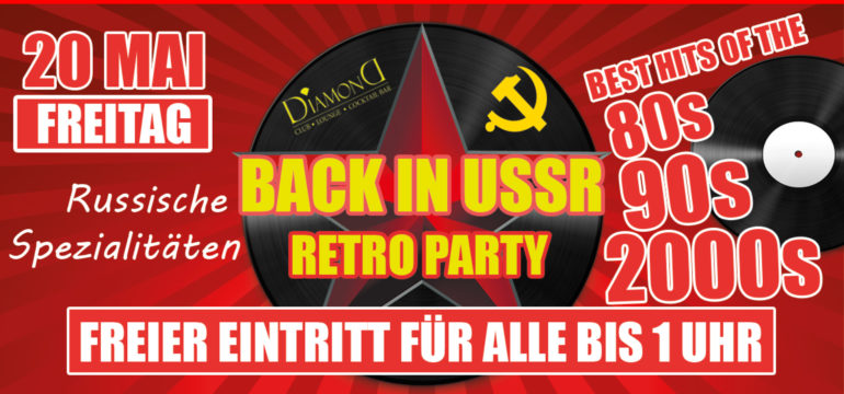 BACK IN USSR PARTY
