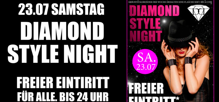 "23.07.2016 ""DIAMOND STYLE NIGHT"""