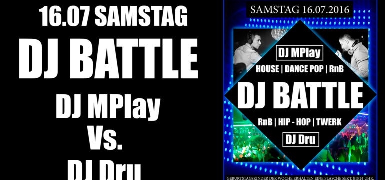 "16.07.2016 ""DJ BATTLE"""