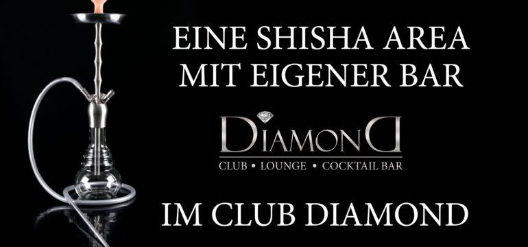 Wir haben eine Shisha Area mit eigener Bar!