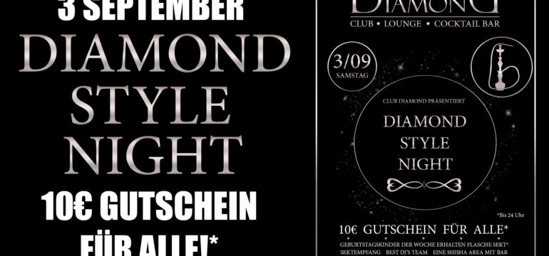 3.09.2016- DIAMOND STYLE NIGHT