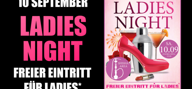 10.09.2016 – LADIES NIGHT