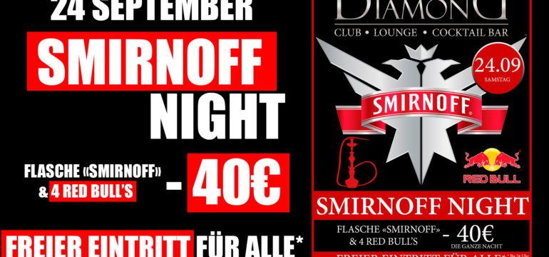 """24.09.2016 – """"SMIRNOFF"""" NIGHT"""