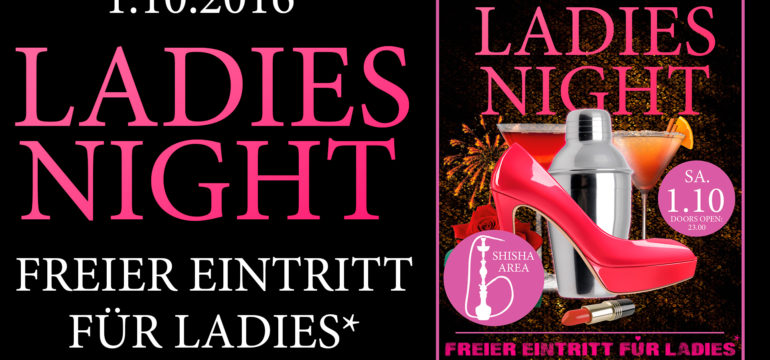 1.10.2016 – LADIES NIGHT