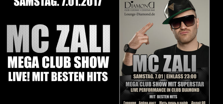 SA. 07.01.2017 – MC ZALI. LIVE!