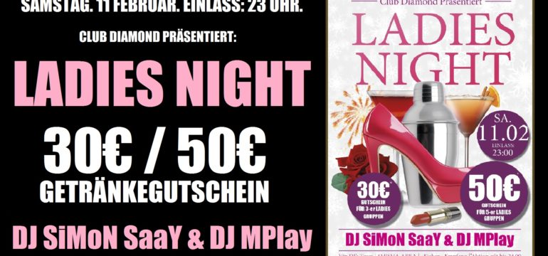 "SA. 11.02.2017 – ""LADIES NIGHT"""
