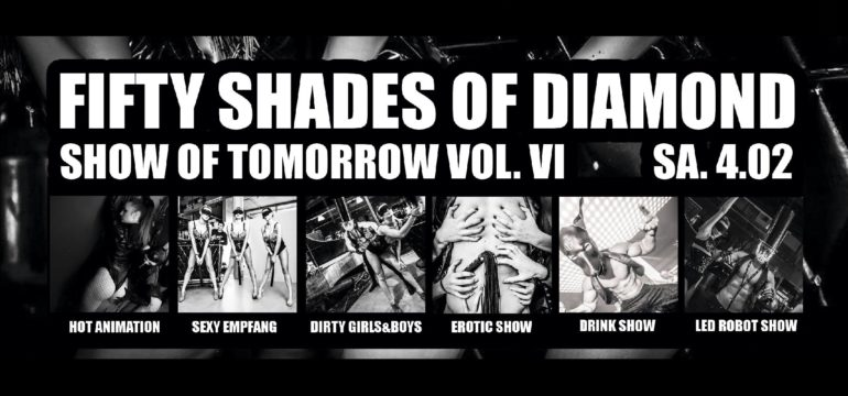 "SA. 04.02.2017 – ""FIFTY SHADES OF DIAMOND"" SOT. VOL VI"