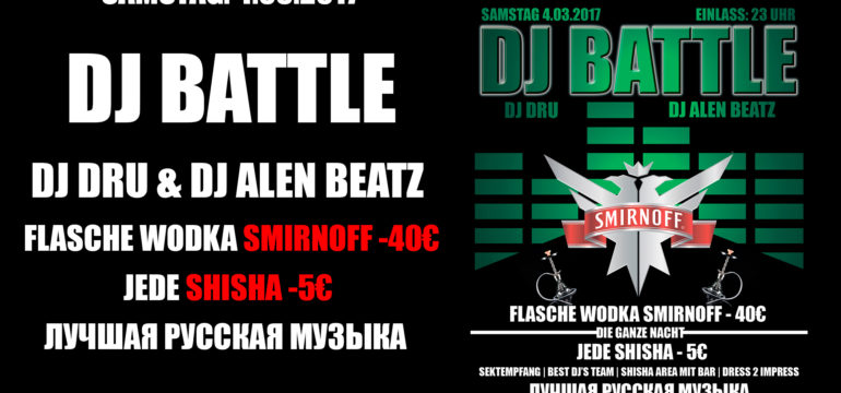 SA. 4.03.2017 – DJ BATTLE