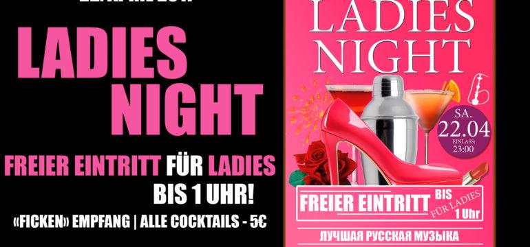 SA. 22.04.2017 –  LADIES NIGHT