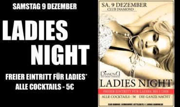 SA. 9.12.2017 –  LADIES NIGHT