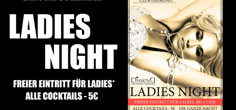 SA. 9.12.2017 –  LADIES NIGHT