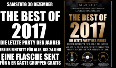 SA. 30.12.2017 –  THE BEST OF 2017
