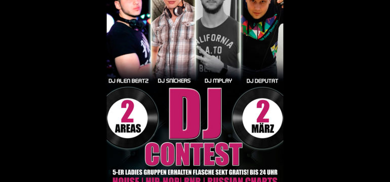 SA. 02.03.2019 – DIAMOND DJ CONTEST