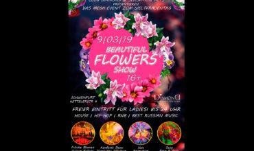 SA. 09.03.2019 – BEAUTIFUL FLOWERS SHOW