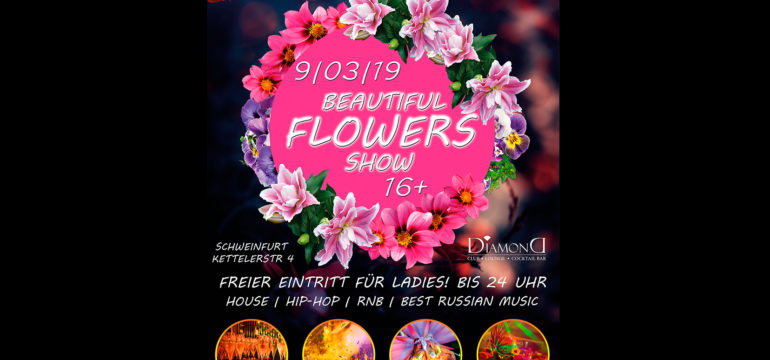 SA. 09.03.2019 – BEAUTIFUL FLOWERS SHOW