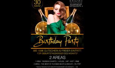 SA. 30.03.2019 – BIRTHDAY PARTY