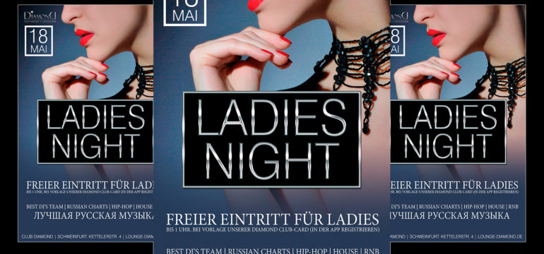 SA. 18.05.2019 – LADIES NIGHT