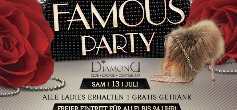 SA. 13.07.2019 –  FAMOUS PARTY