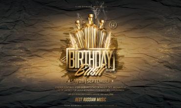SA. 28.09.2019 – BIRTHDAY BASH PARTY