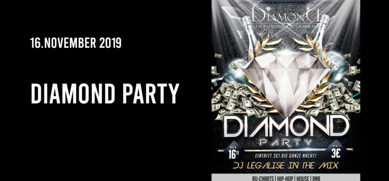 SA. 16.11.2019 – DIAMOND  NIGHT