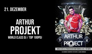 SA. 21.12.2019 – DJ ARTHUR PROJEKT