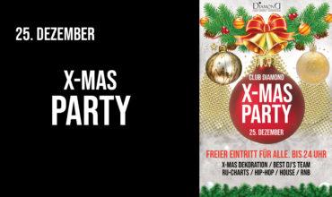 SA. 25.12.2019 – X-MAS PARTY