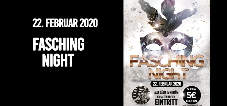 SA. 22.02.2020 –  FASCHING NIGHT