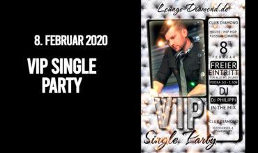 SA. 8.02.2020 –  VIP SINGLE PARTY