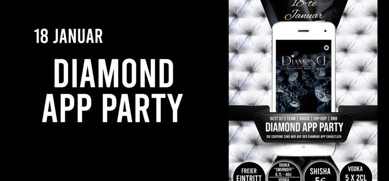 SA. 18.01.2020 –  DIAMOND APP PARTY